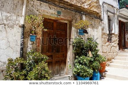 Valencia Old Town, Spain Stock photo © joyr