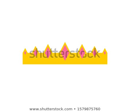 Príncipe corona aislado jóvenes rey CAP Foto stock © MaryValery