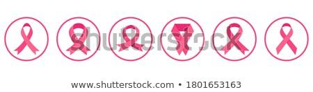 Various Cancer Awareness Ribbon Symbols Icon Set Stock photo © smith1979