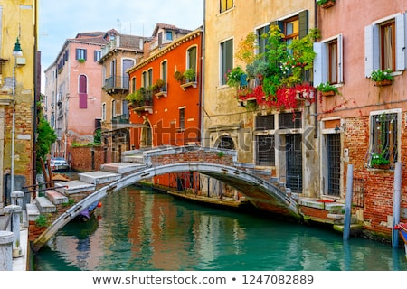 Old bridge in Venice Stock photo © Givaga