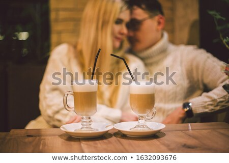 datant · heureux · amour · photo - photo stock © deandrobot