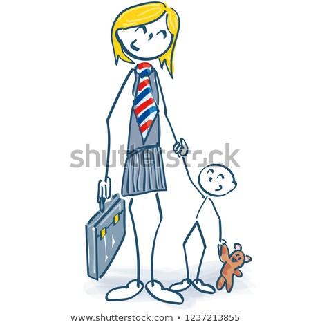 carriere · business · stress · zakenman · werknemer - stockfoto © ustofre9
