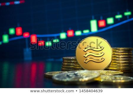 Euro · egy · érme · izolált · fehér · vágási · körvonal - stock fotó © pedrosala