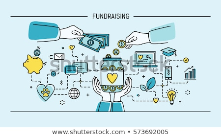 Investment fund concept banner header. Stock photo © RAStudio