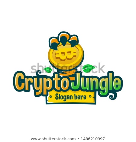 Exchange - Cointiger. The Crypto Coins or Cryptocurrency Logo. Stock photo © tashatuvango