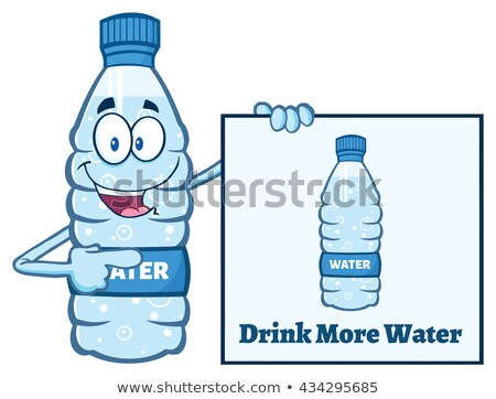 potable · botella · agua · hermosa · morena - foto stock © hittoon