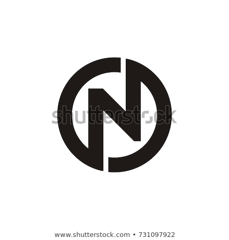 letter o and n logotype symbol vector icon Stock photo © blaskorizov