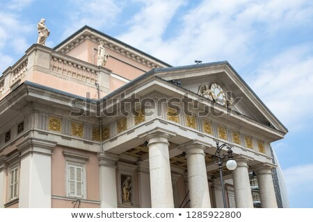 Trieste Commodity Exchange building in Italy Stock photo © boggy