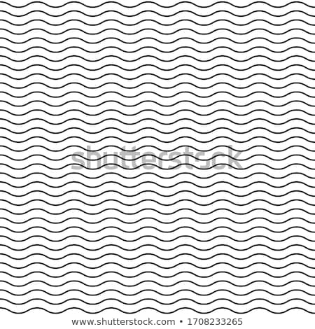 Vector sin costura delgado ondulado línea patrón Foto stock © blumer1979