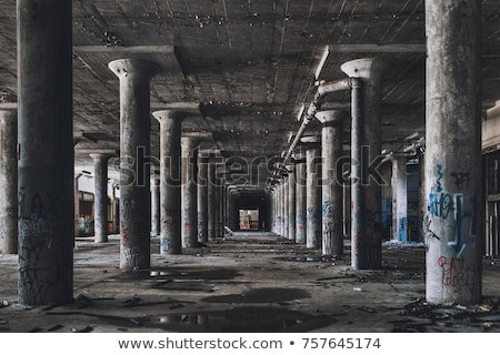 abandoned factory stock photo © 5xinc