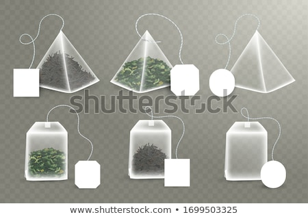 Black and Green 3d Pyramidical Shape Vector Illustration Stock photo © cidepix
