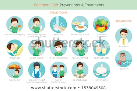 healthy food disease prevention stock photo © lightsource