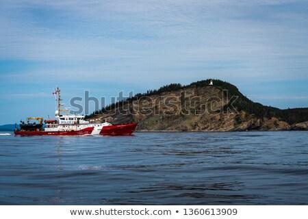 Wybrzeża straży wody lata czerwony rzeki Zdjęcia stock © Lopolo