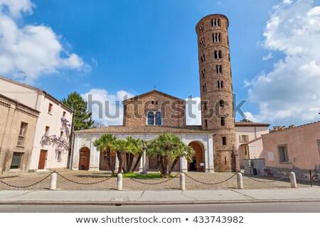 Basilica of Sant Apollinare Nuovo, Ravenna. Italy Stock photo © borisb17