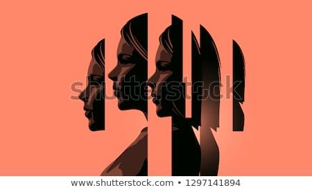 тревога депрессия терапии 3d иллюстрации психическое здоровье Сток-фото © olivier_le_moal