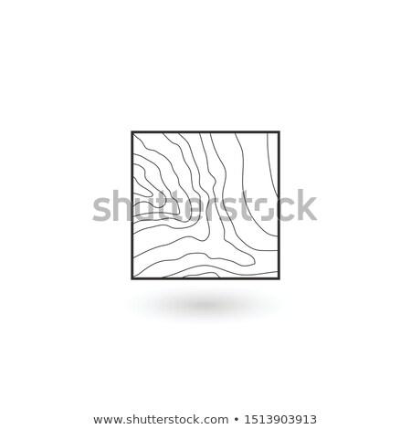 kaba · harita · düzenlenebilir · vektör · kroki · planı - stok fotoğraf © kyryloff