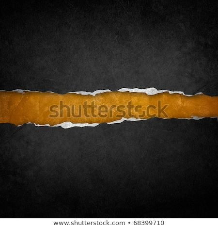 Gold and black torn paper. Template background Stock photo © fresh_5265954