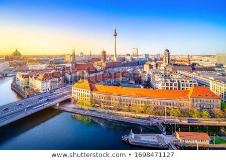 景観 ベルリン ドイツ テレビ 塔 博物館 ストックフォト © neirfy