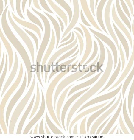 Beige abstract arte seta texture onda Foto d'archivio © Anneleven