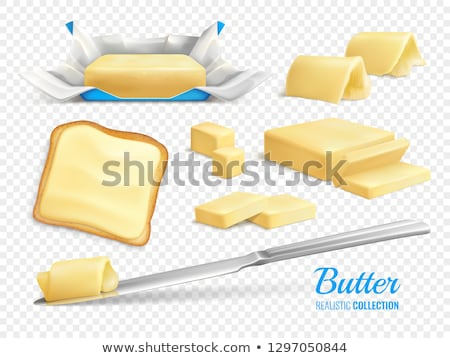 Butter Or Margarine Collection Icons Set Vector Stock photo © pikepicture