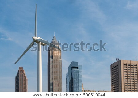 Wind Turbine in Cleveland  Stock photo © benkrut