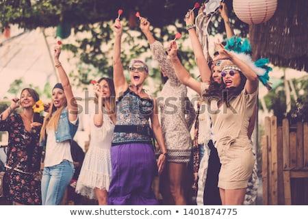 Mature hippie stock photo © disorderly