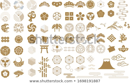 szimbólumok · Japán · kultúra · japán · hagyományos · vektor - stock fotó © sahua