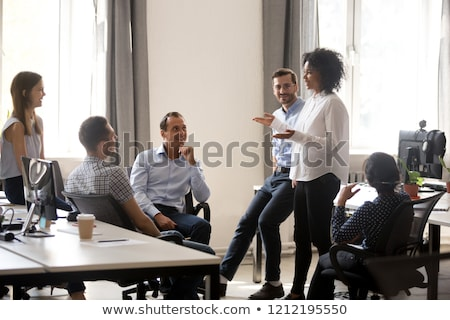 studenten · verkoop · opleiding · vergadering · werk · technologie - stockfoto © photography33