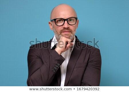 早い · 作業 · 成熟した男 · アップ · 日々 · 仕事 - ストックフォト © stockyimages