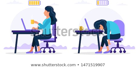 bored female office worker stock photo © photography33