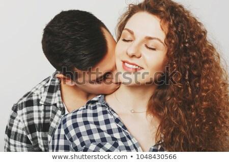 портрет · чувственный · Lady · целоваться · красивый - Сток-фото © stockyimages