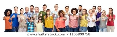 笑みを浮かべて · 女性 - ストックフォト © stockyimages