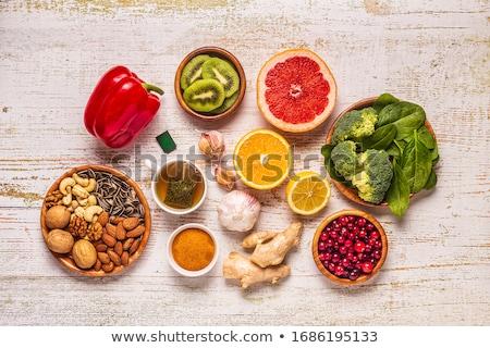 green nut stock photo © hinnamsaisuy