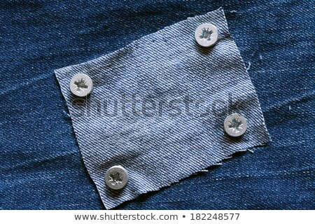 background with fasten jeans fabrics for message Stock photo © yurkina