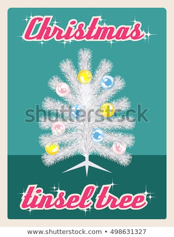 Shiny greeting card in retro style. EPS 8 Stock photo © beholdereye