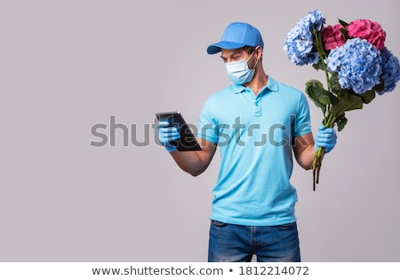 Male florist Stock photo © photography33