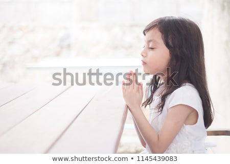 little prayer stock photo © kornienko