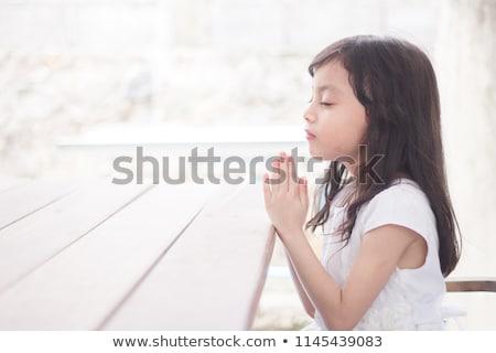 мало молитвы рук Церкви поклонения молятся Сток-фото © kornienko