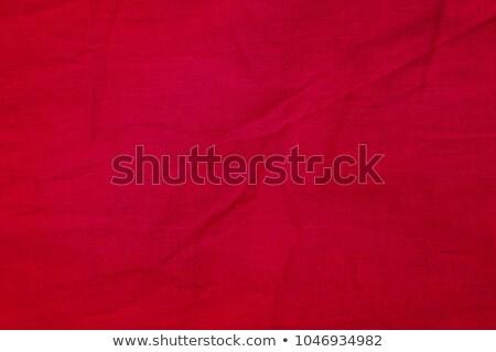 Cotton Fabric Texture - Red with Seams Stock photo © eldadcarin