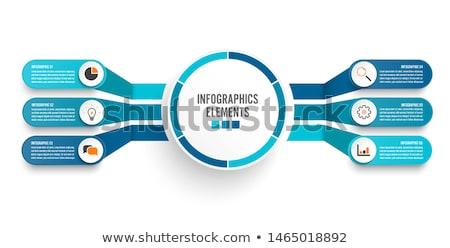 Folyamat kör diagram 3D nyilak üzlet Stock fotó © cteconsulting