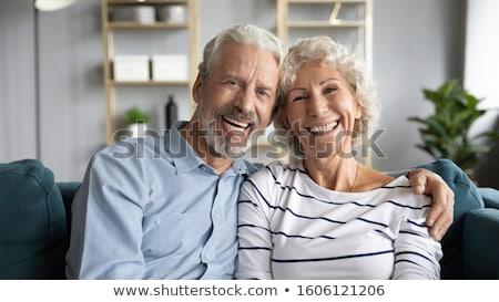 Stock fotó: Gyengédség · gyönyörű · pár · átkarol · odaadás · szeretet
