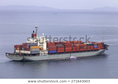 Cutter, sailing cargo vessel Stock photo © 5xinc