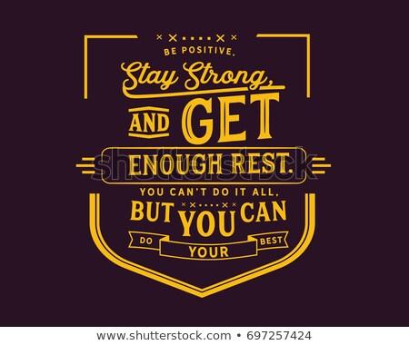 することができます やる気を起こさせる 黒板 信仰 チームワーク ストックフォト © stevanovicigor