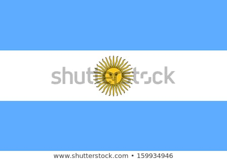 flag of argentina Stock photo © claudiodivizia