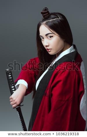 美しい 女性 戦闘機 剣 手 女性 ストックフォト © pxhidalgo