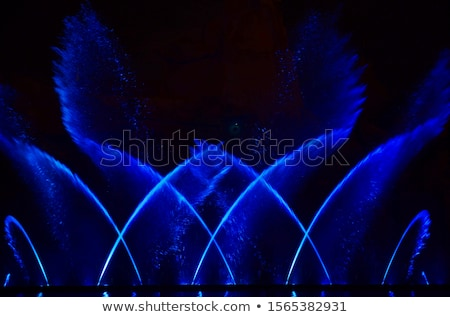coloured fountain stock photo © maros_b