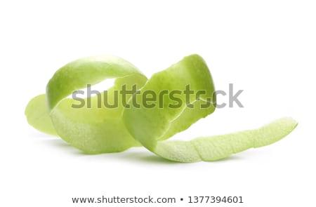 Green Apple Peeling Stock photo © devon