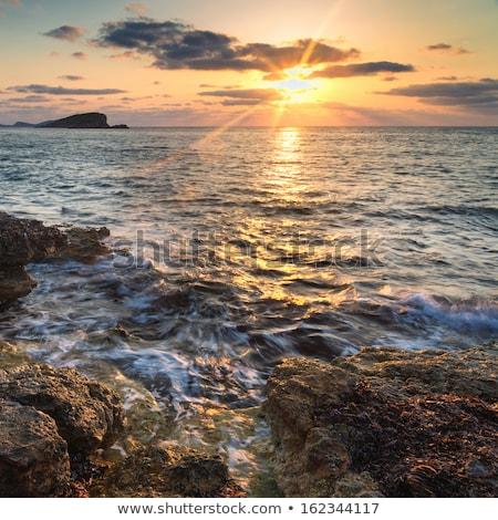 Sundown over the sea Stock photo © mahout