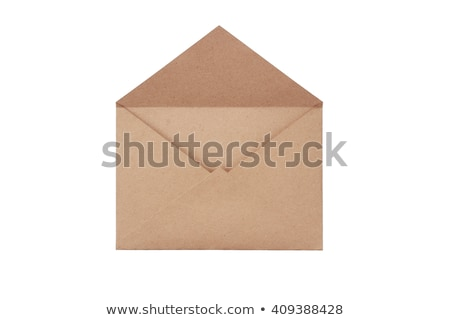 open brown envelope paper stock photo © orensila
