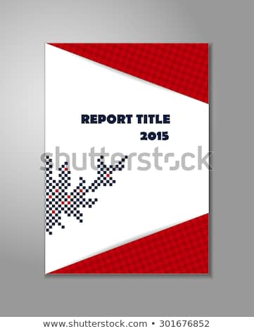Public Relations - Title of Red Book. Stock photo © tashatuvango